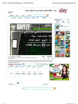 Sneeze - Puzzle Games at Miniclip.com - Play Free Online Games