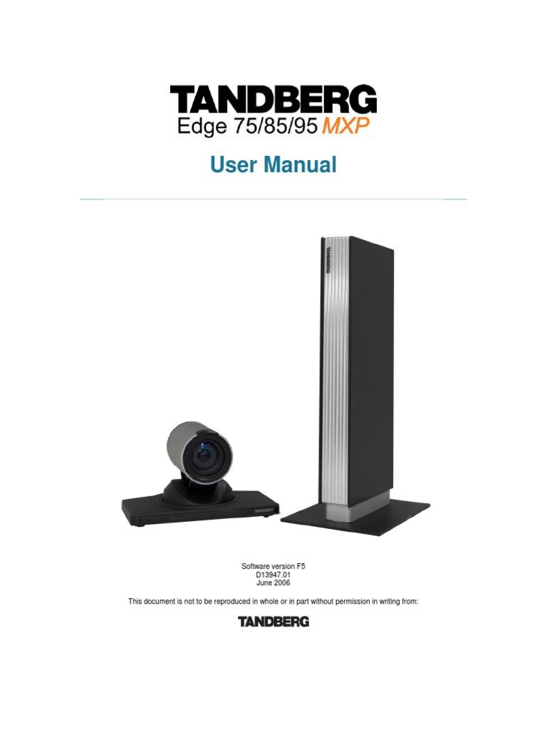 download videoconferencing tandberg profile 6000 mxp user manual rh docshare tips tandberg mxp 6000 administrator guide tandberg mxp 6000 administrator guide