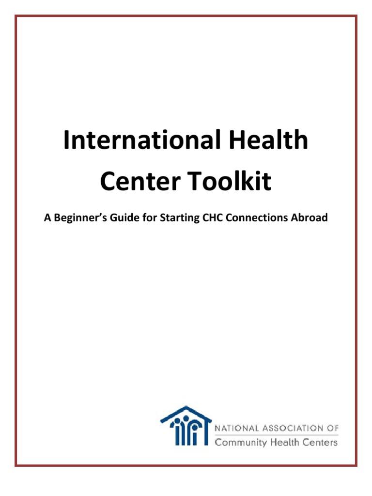 International Health Center Toolkit - DocShare tips