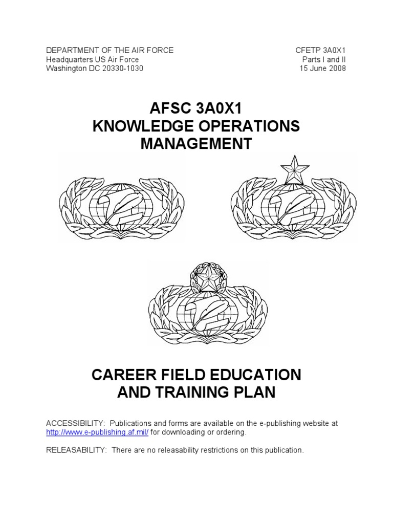 Air Force Qualification Training Docsharetips - Air-force-occupational-badges