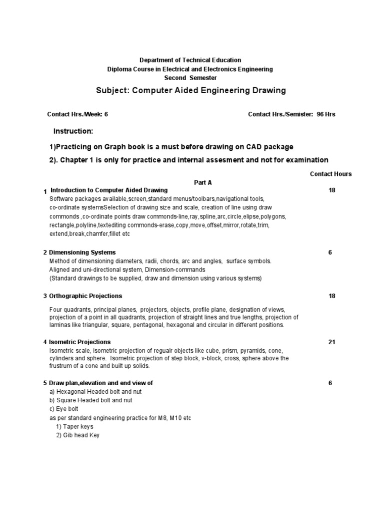Download 1computer Aided Electrical Drawing Syllabus Text Book Computer Engg
