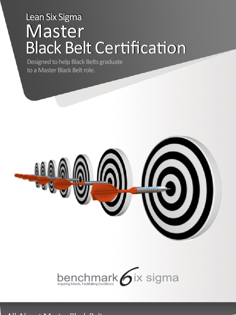 Download Benchmark Six Sigma Master Black Belt Training Brochure