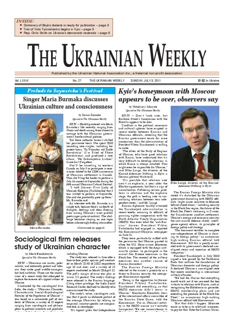 ^ he Ukrainian Weekly 2011-27 - DocShare.tips