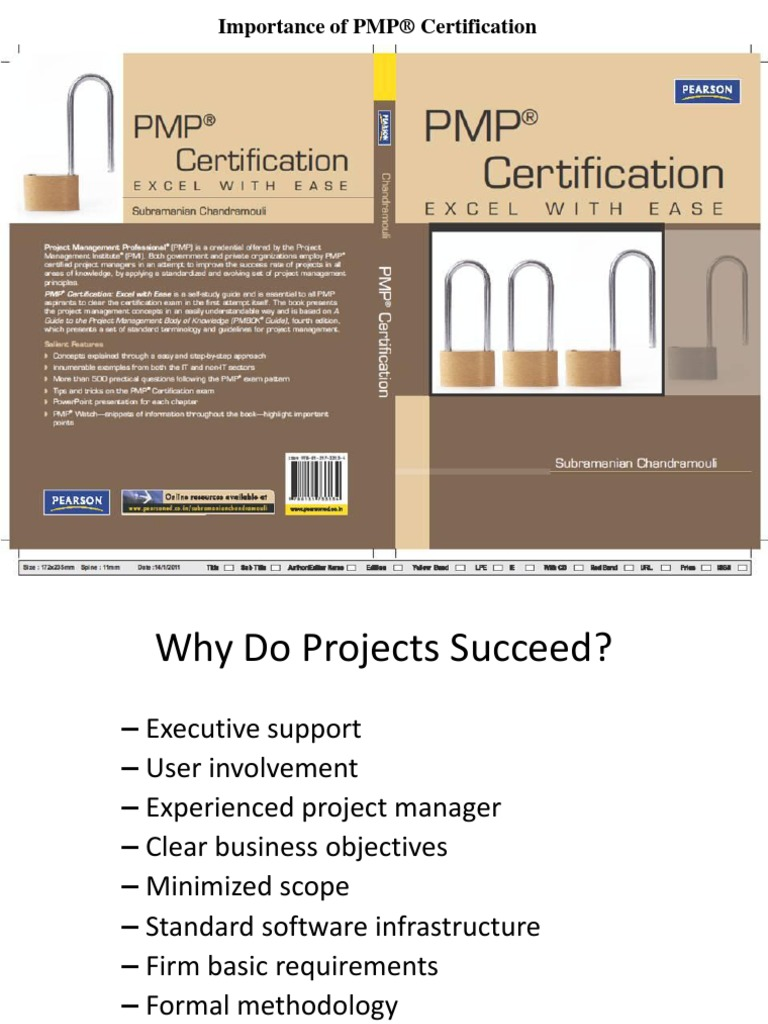 Importance of pmp certification docshare 1betcityfo Image collections