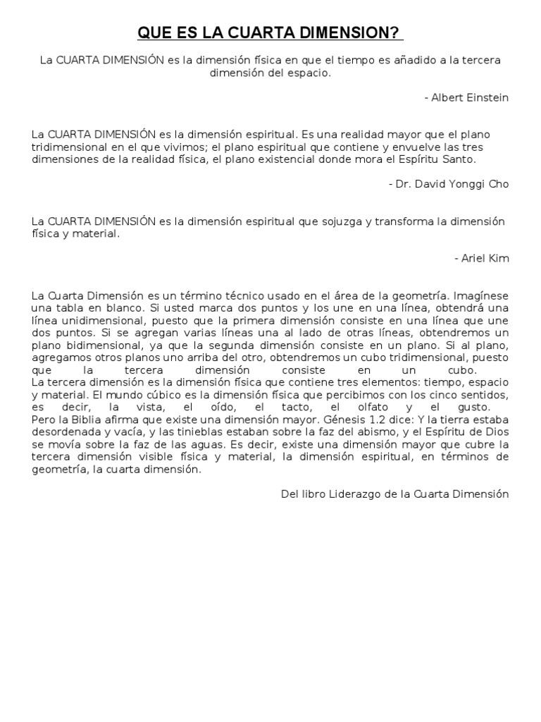 Download La Cuarta Dimension - DocShare.tips