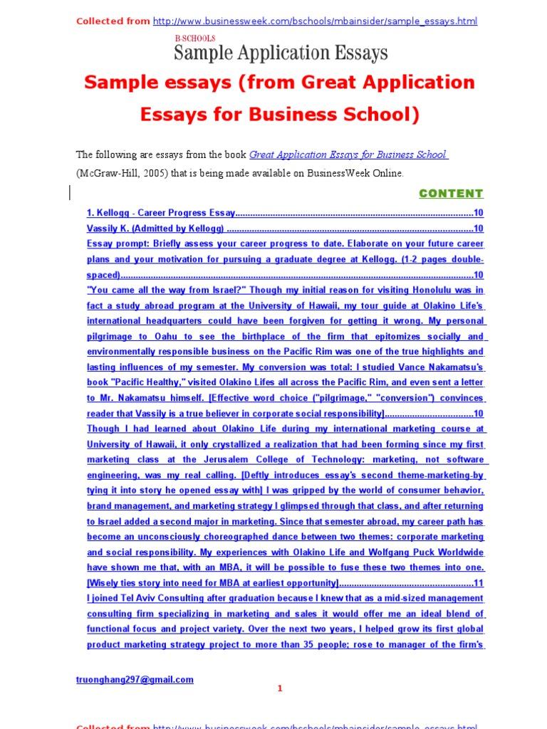 Study Abroad Application Essay