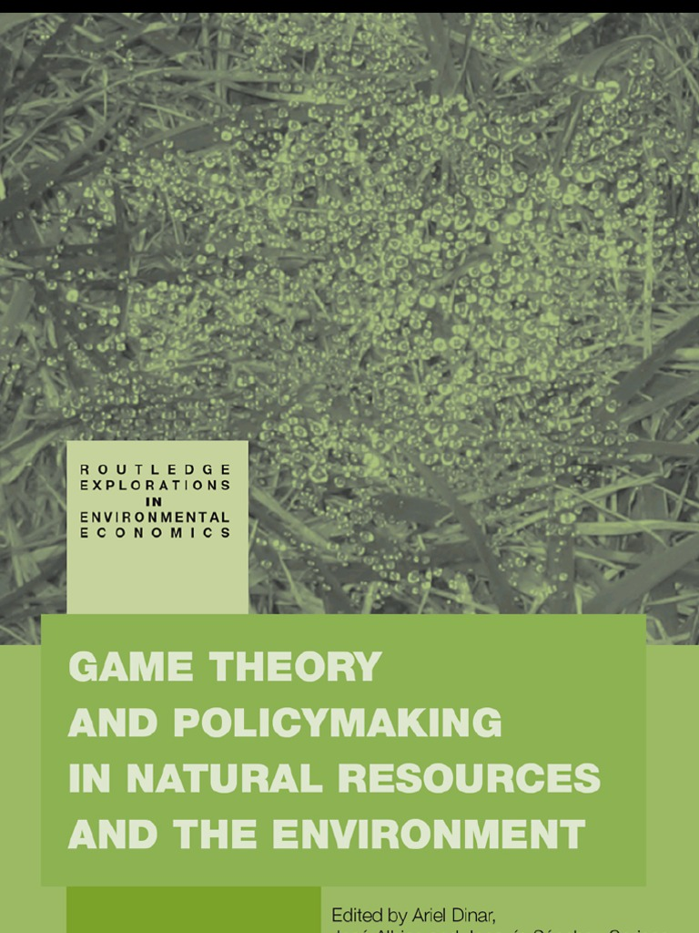 Game theory and natural resources docshare fandeluxe Image collections