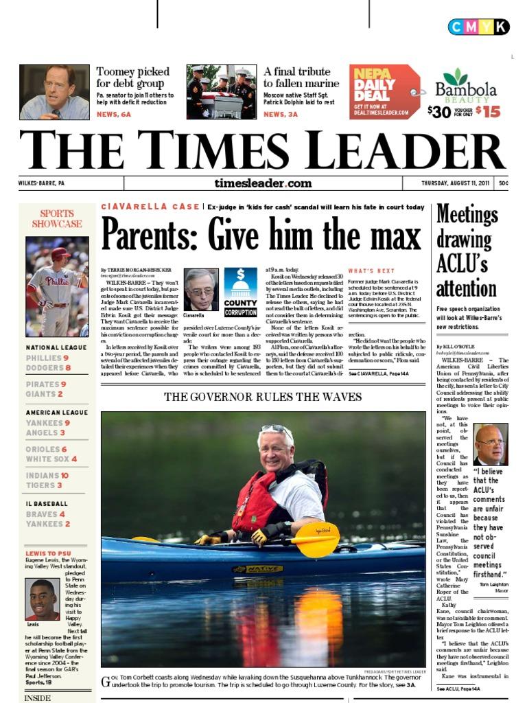 94ad1da3 Times Leader 08-11-2011 - DocShare.tips