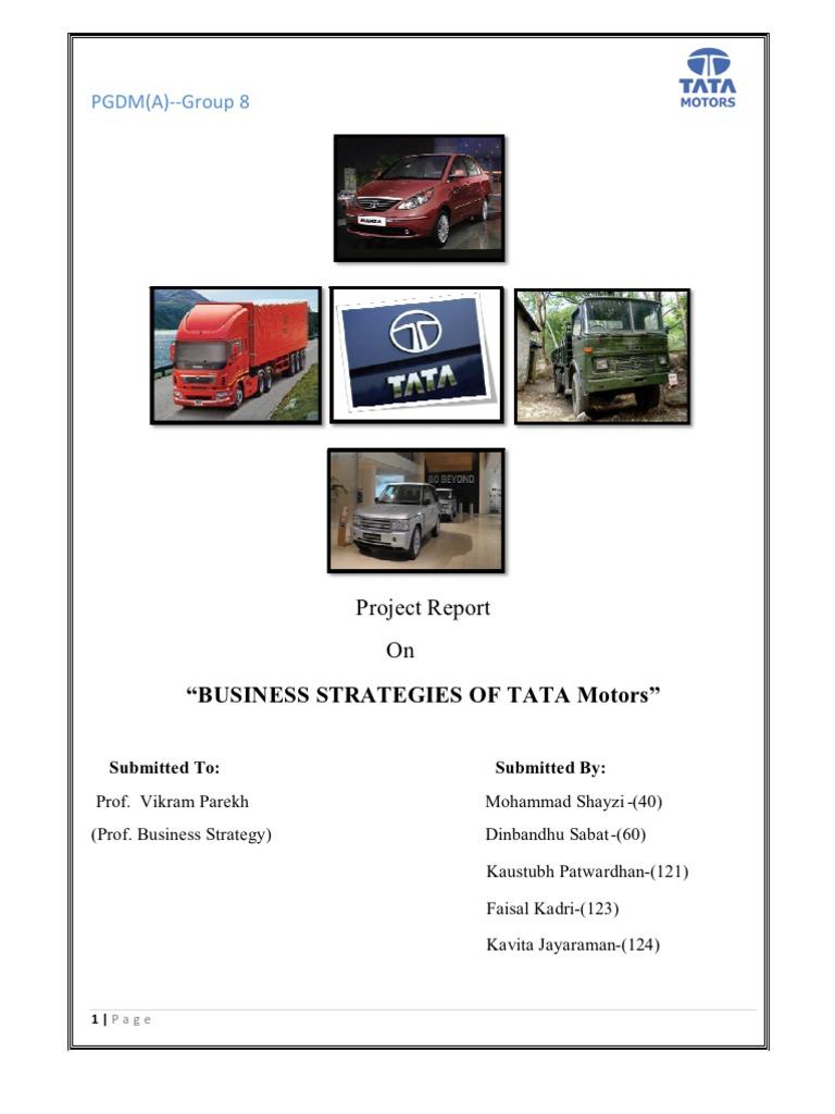 pestle analysis of tatamotors in ppt or pdf