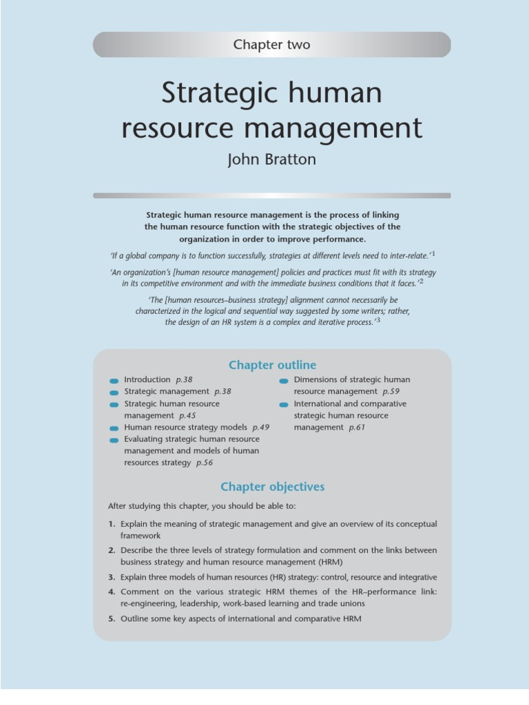 strategic management approach essay example