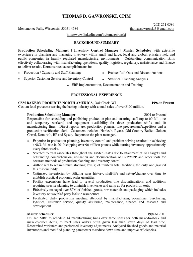 Download Insurance Sales Consultant in Milwaukee WI Resume Sherry ...
