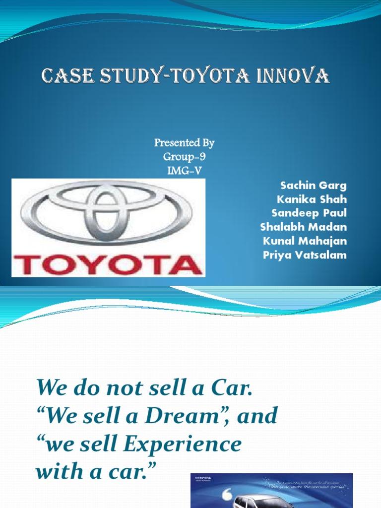 case study of toyota