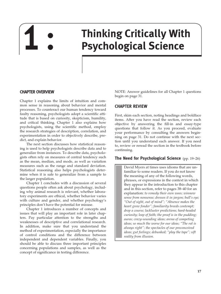 why psychologist use the scientific method essay The case study method often involves simply observing what happens to the psychologist may use various types of accessible data, such as medical records.