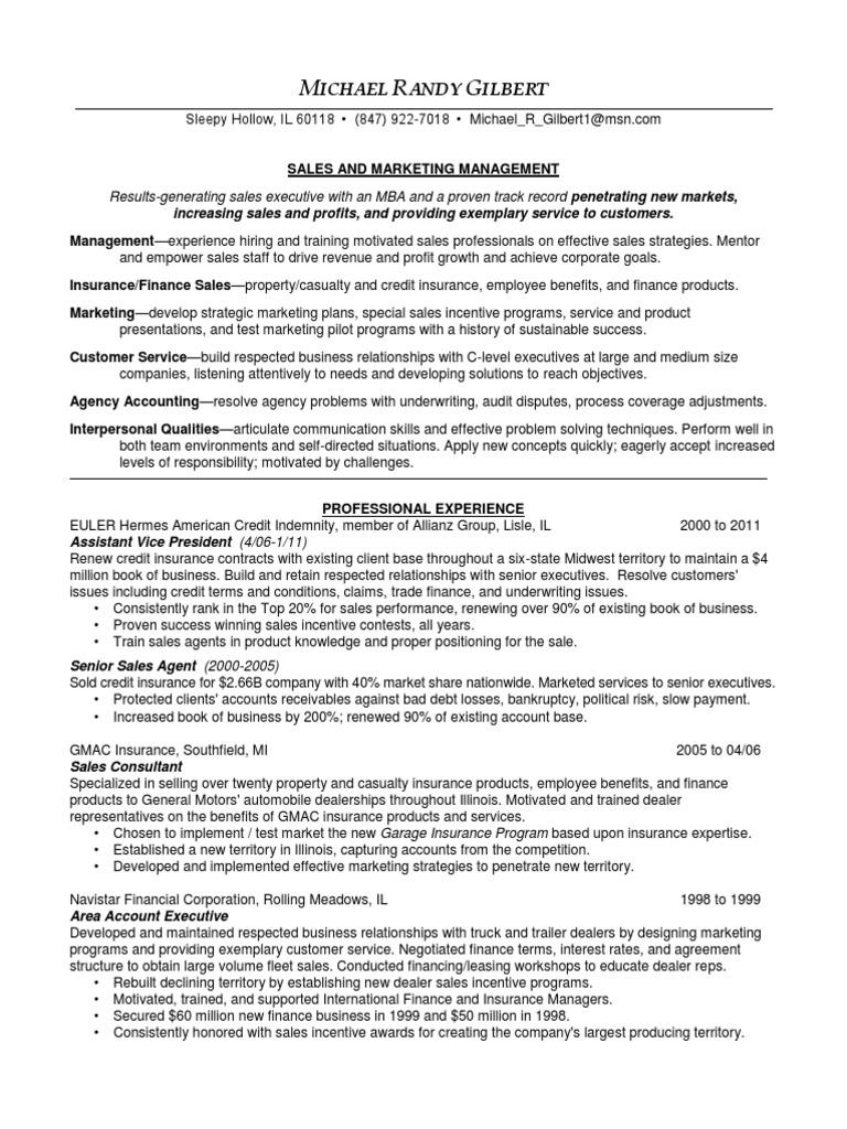 61 Resume Senior Sales Executive Sample Resume Sales And