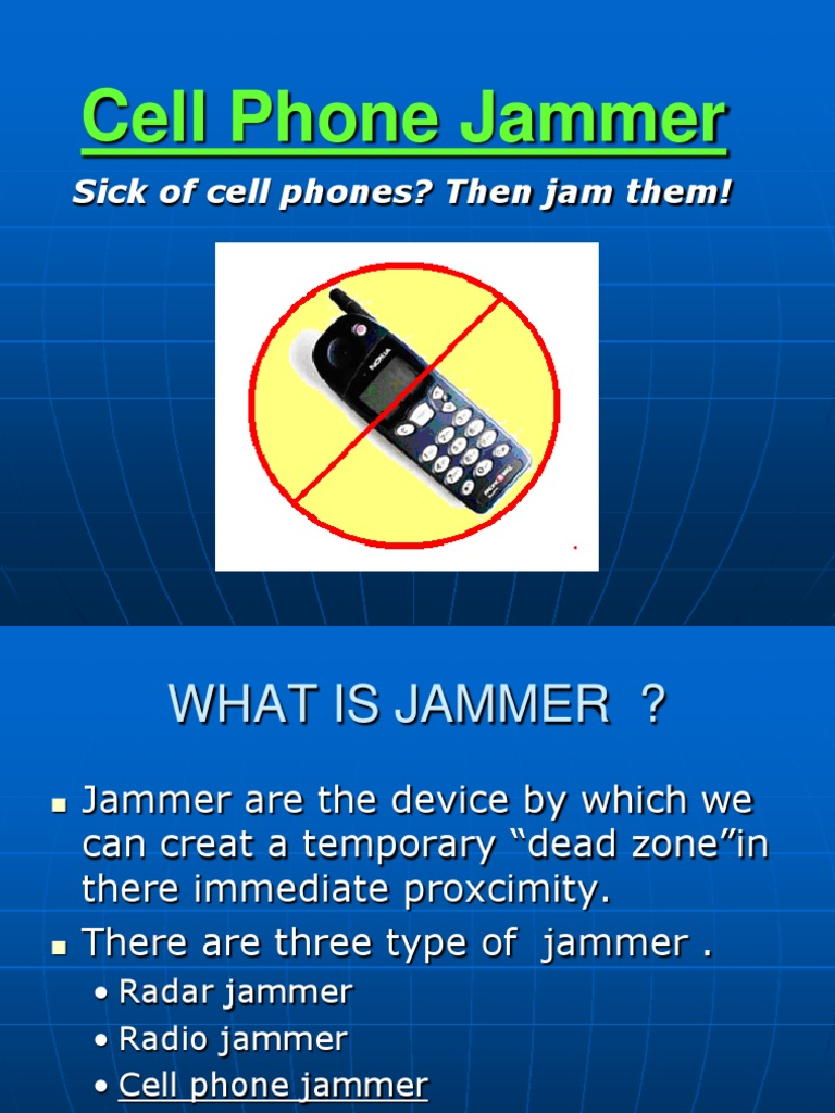 a technical report into cell phone jammers Jammers cell phone signal,jammers wifi phones,note: mobile signal jammers may not be permissible to import into certain countries due to licensing of technical.