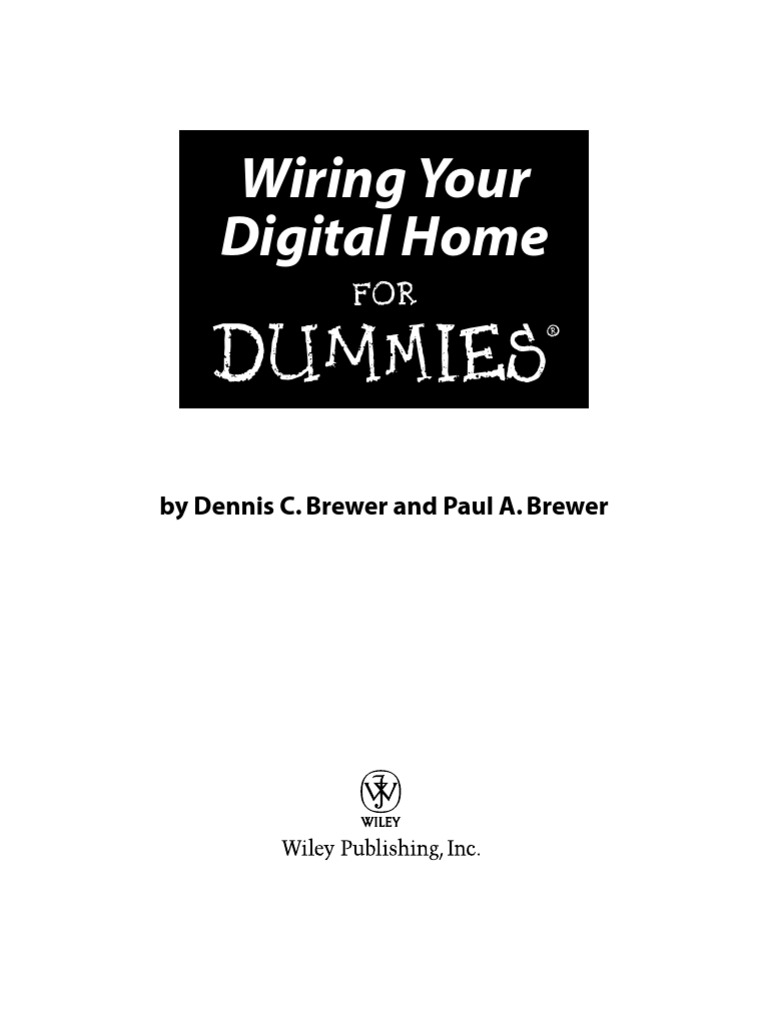 Wiring Your Digital Home Lifestyle 235 Theater Diagram For