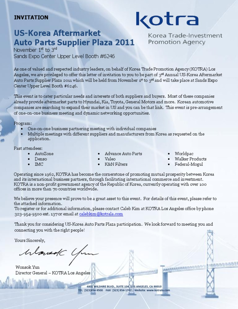 Auto Parts Plaza 2011 Invitation (1) - DocShare tips