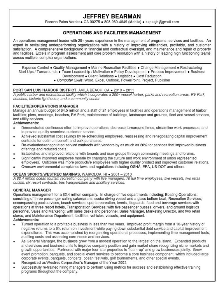 Download Regional Portfolio Facilities Property Manager in Los ...