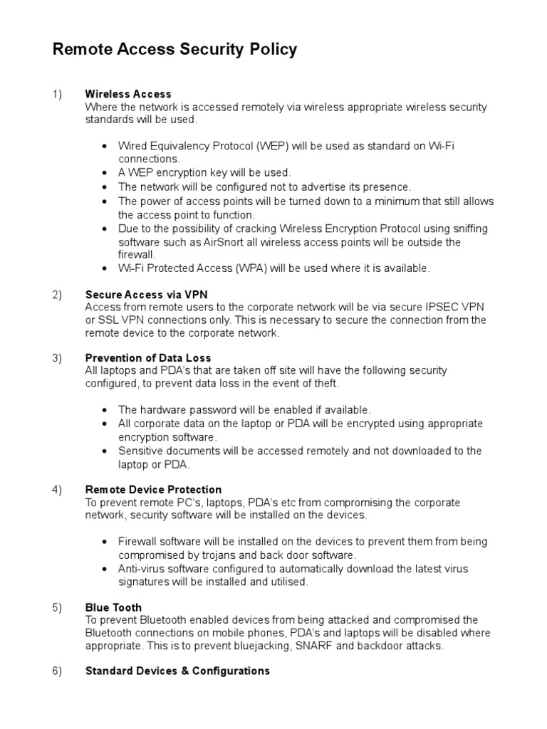 Download Company Laptop Policy Template Docshare