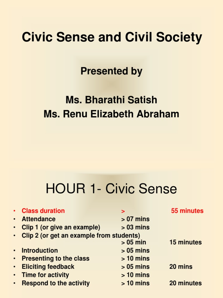 civic and social responsibility essay