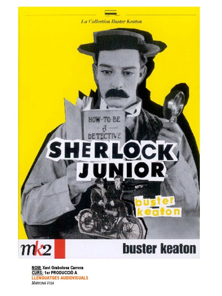a review of sherlock jr a film by buster keaton Sherlock jr (1924) jack avery throughout his cinematic career, buster keaton was never particularly considered to be a producer of films that were socially or politically engaged sherlock jr is a film from the middle to late era of silent film, with keaton both starring in and directing the feature.