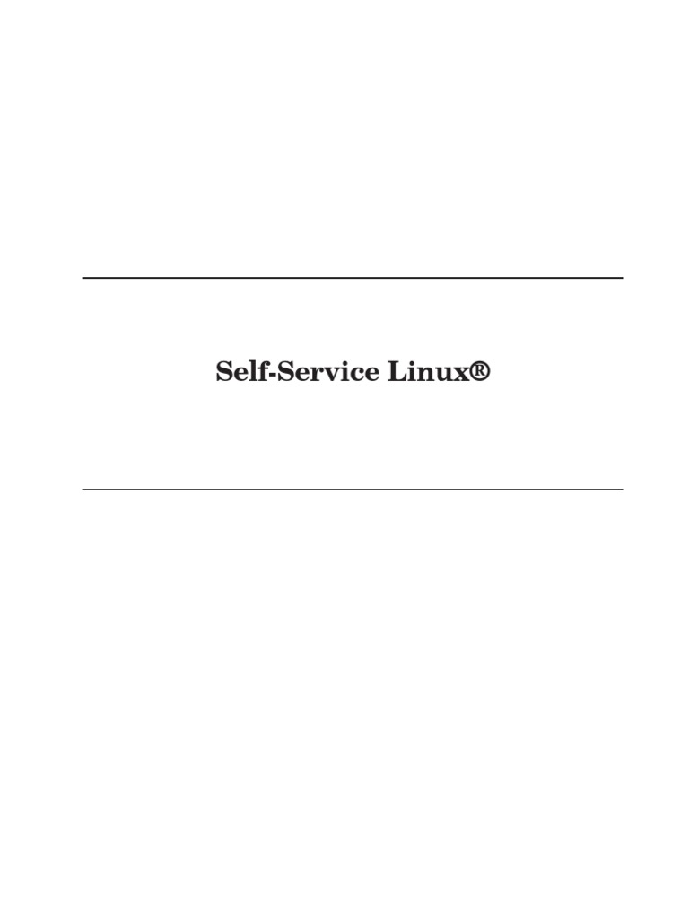 Linux Self Service Book - DocShare tips