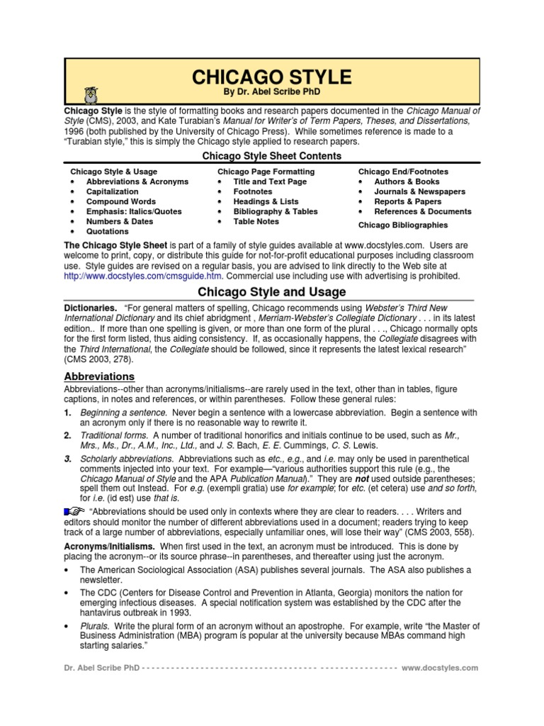 guide writing research papers chicago style Turabian style guide includes the notes and bibliography style and the author-date style the recent edition of kate l turabian a manual for writers of research papers, theses, and dissertations is aligned with the newest chicago manual of style to match its requirements.