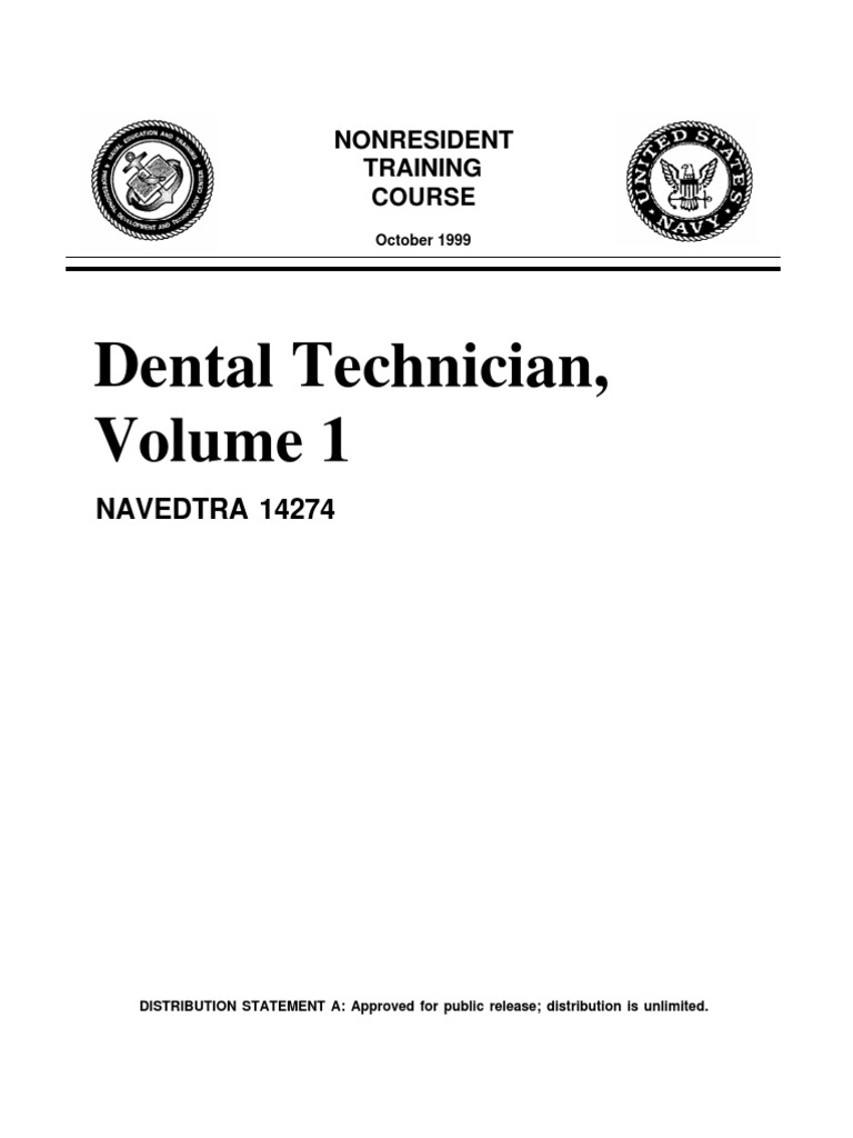 download us navy course navedtra 14119 hull maintenance technician rh docshare tips navy dental technician manual Dental Therapist
