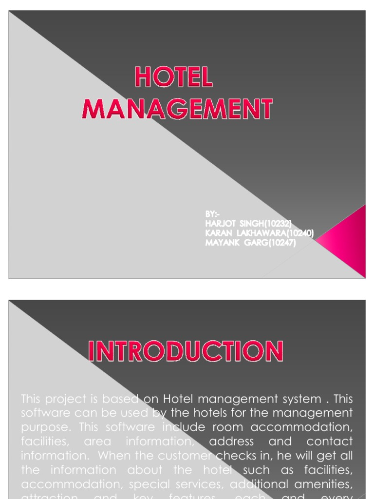 hotel management research paper Research paper topics in hospitality industry hospitality is identified as the act of giving genuine care and kindness to a stranger, friend or whoever is in need hospitality involves friendly treatment of guests or tourists and is a very important sector in the tourism industry.