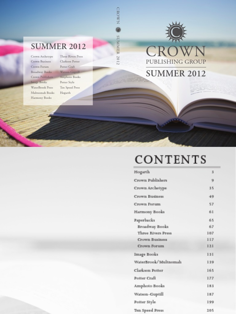bfefa6a8dbc Crown Publishing Group Summer 2012 Catalog - DocShare.tips