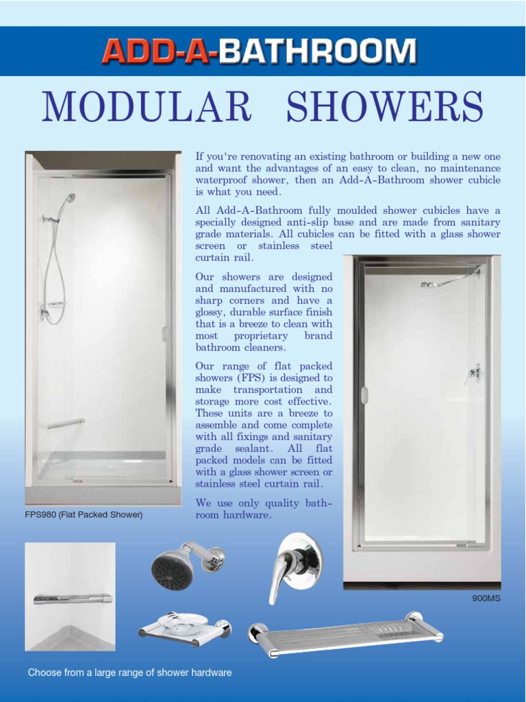 Outdoor Shower Product Page-1 - DocShare.tips