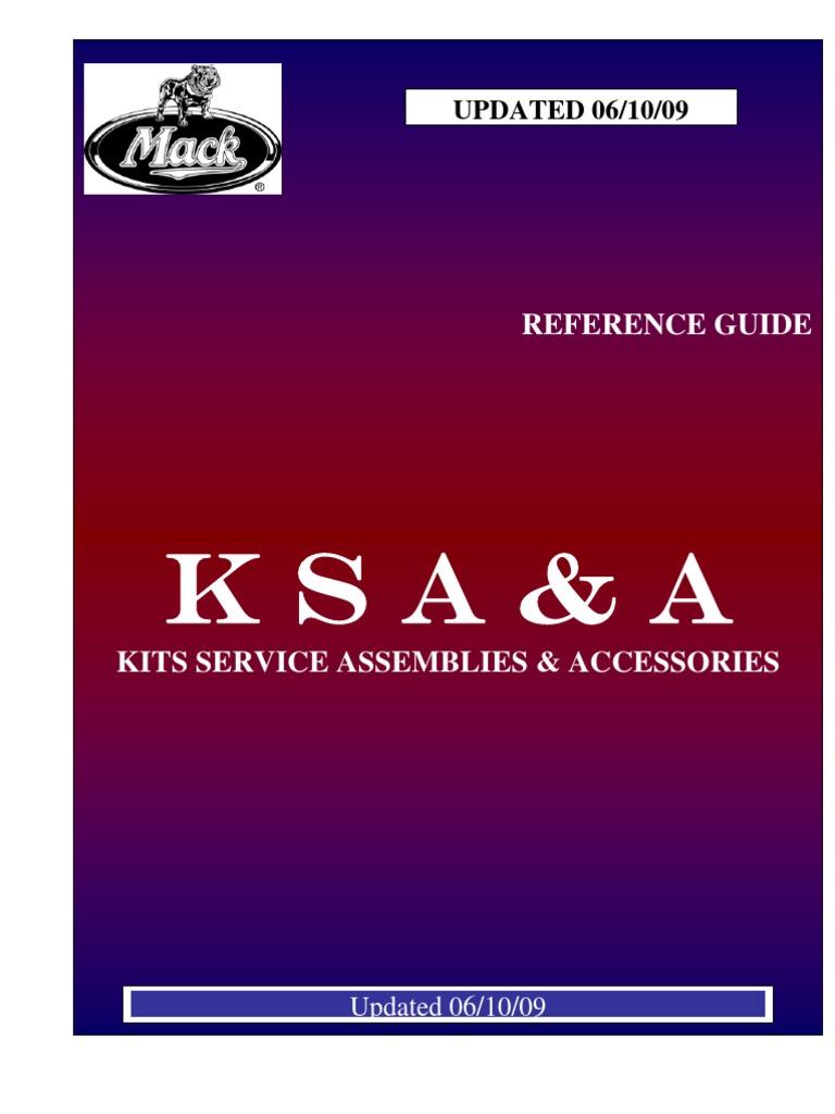 Mack Kits Service Amp Assemblies 2009 Windshield Wipers 124 1241 Wiring Diagram