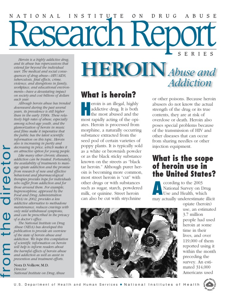 heroin abuse essay Paper about the growing abuse of heroin in today's society need to use more sources drugs have been around for hundreds of years indians were known to have used opium and other drugs for medical and various other purposes.