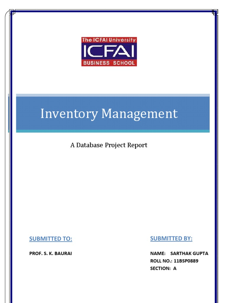 96695166 inventory management system project report Rfid inventory management - final year project myfilaway loading unsubscribe from myfilaway share more report need to report the video sign in to report.