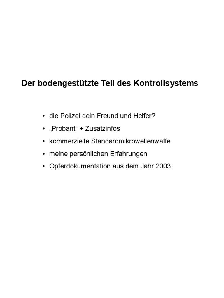 Strahlenfolter - Michael Weißenborn aus Hamburg Teil 2 Projekt ...