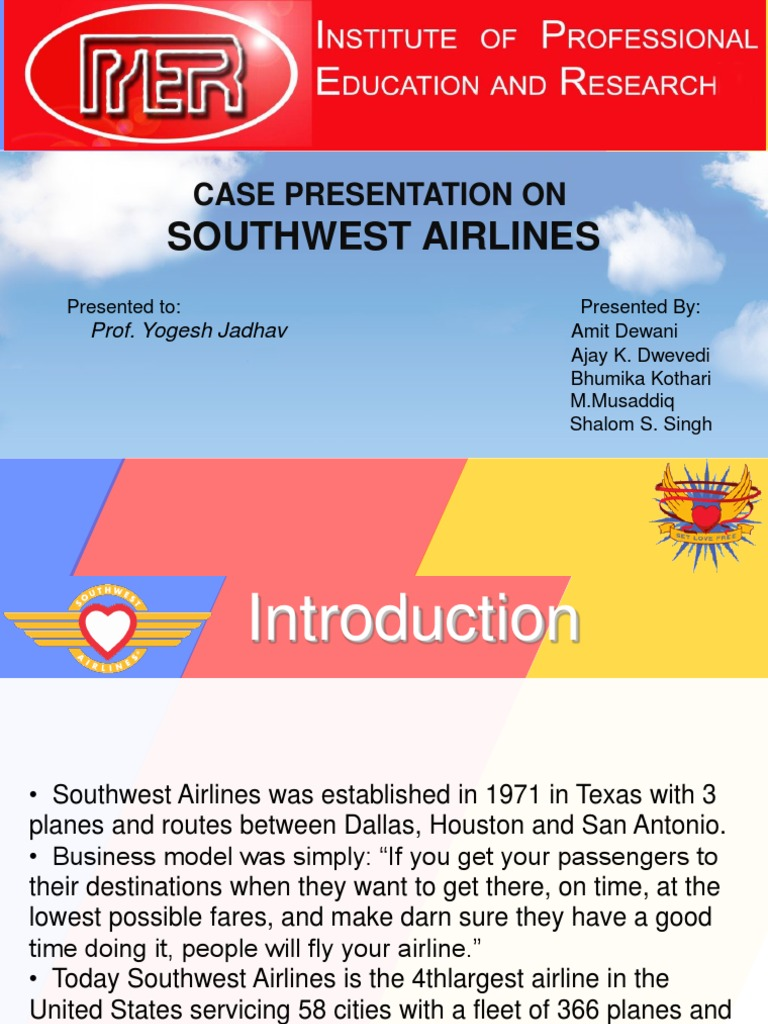 harvard business review southwest airlines case study Based on a study of negotiation  the editor of harvard business review picks highlights from each new  harvard business publishing is an affiliate of.
