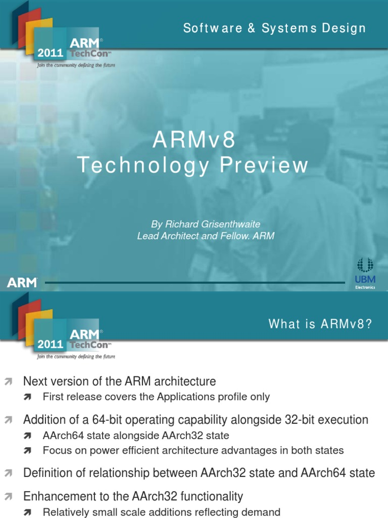 ARMv8 Architecture - DocShare tips