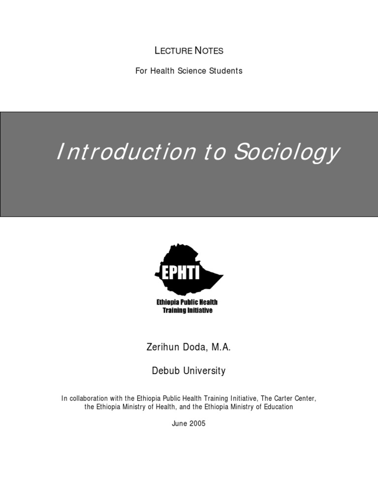 an introduction to sociology essay Sociology essaydocx 26 pages  an introduction to sociology - chapter 6, and explain how the related social institution when does deviance become sin, and what.