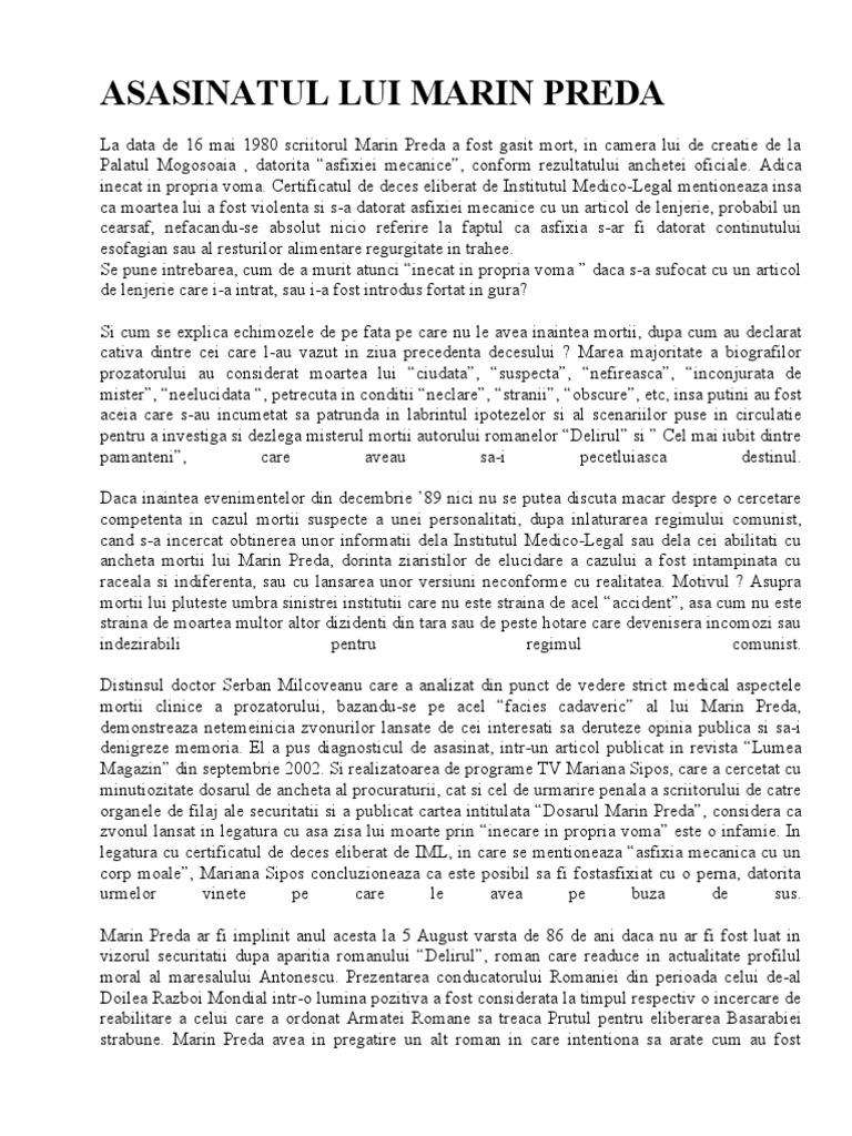 Morometii marin pdf preda