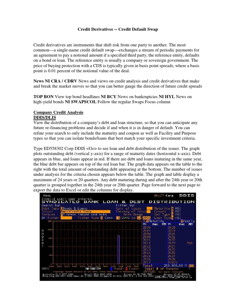 Bloomberg Cds Guide Docshare