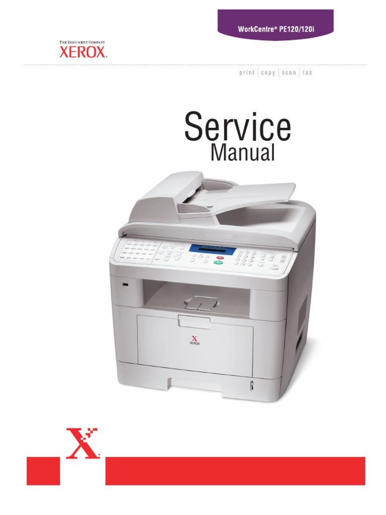 PE120 Service Manual