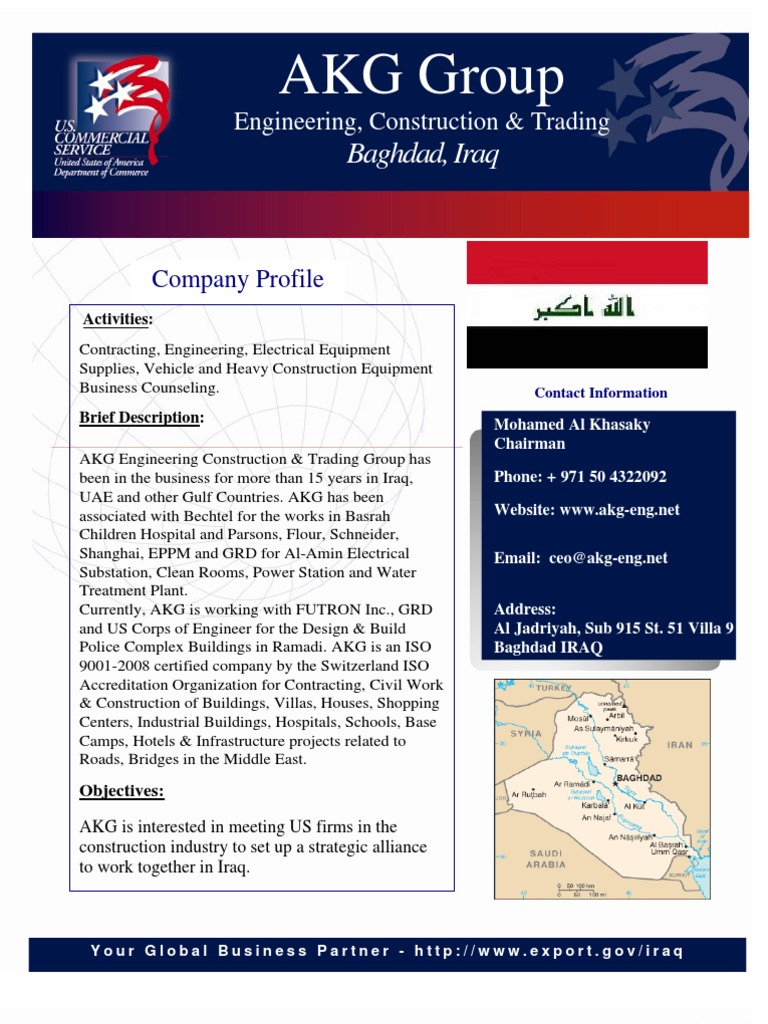 Iraqi Companies at WOC 2011 - DocShare tips