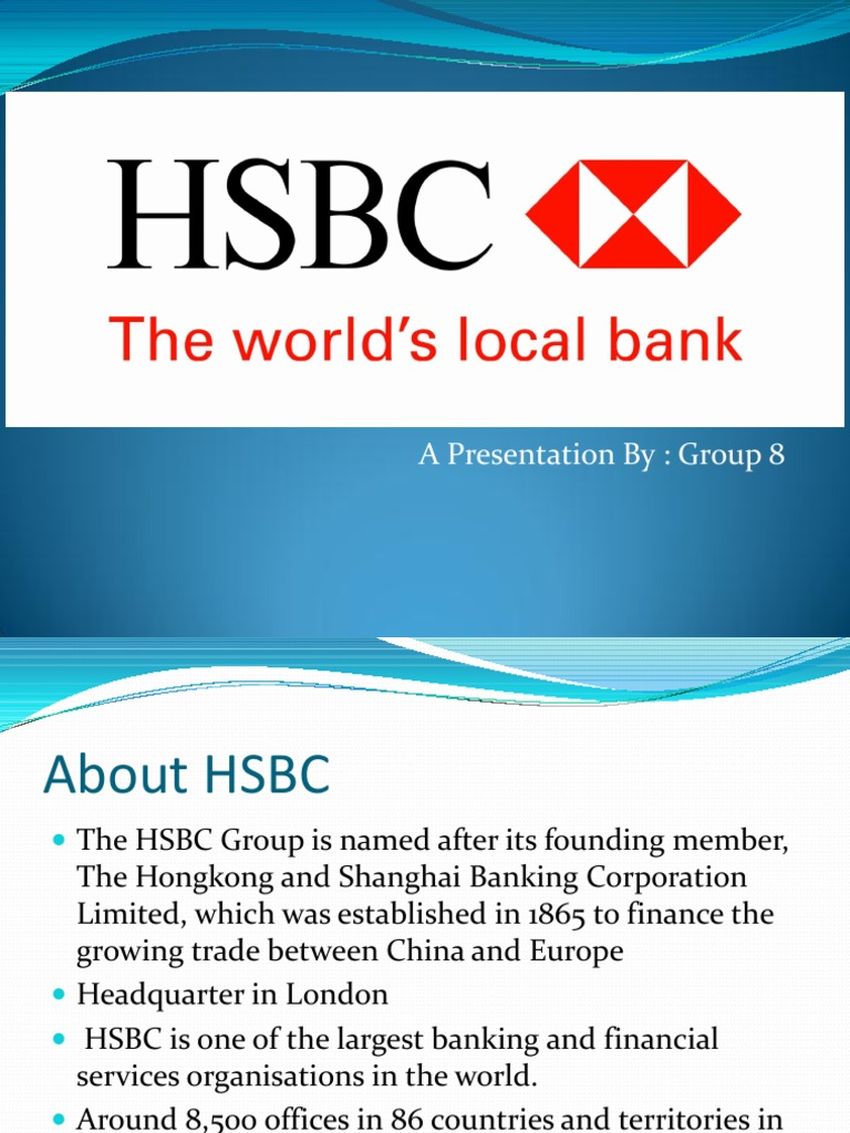 literature on hsbc essay This study is concerned with the pattern of online banking services in hsbc, uk  and  a short review of the literature on electronic banking briefly illustrates the.
