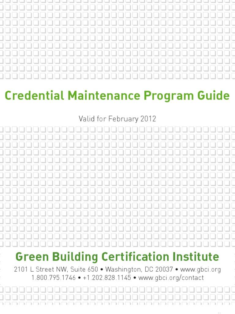 Credential Meintenance pdf - DocShare tips