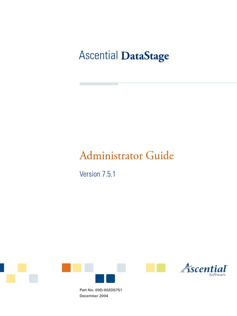 DataStage Administrator Guide  - DocShare tips