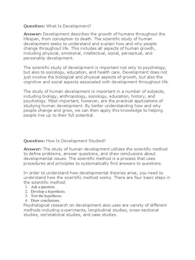 Developmental Psychology - DocShare tips