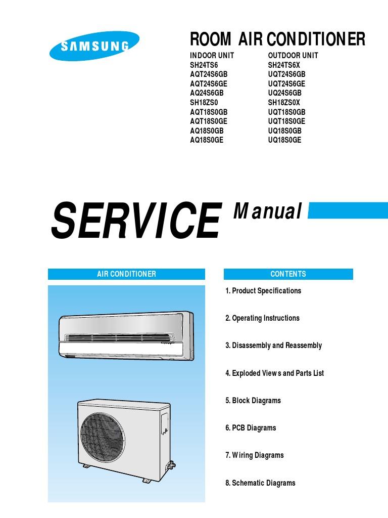 Download Homebase Air Conditioner 253797 Manual Midea Wiring Diagram Samsung Room
