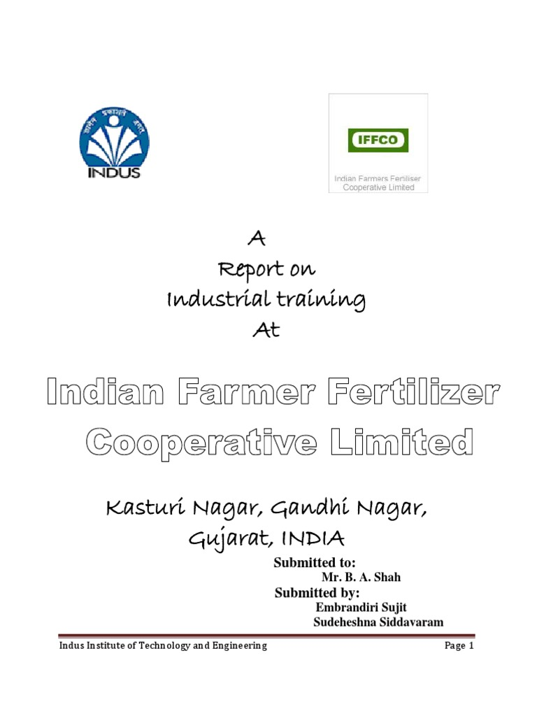 IFFCO training Report - DocShare tips