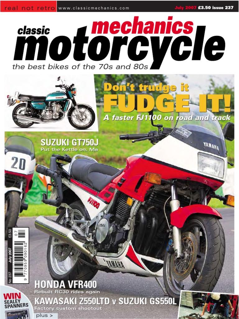 Classicmotorcyclemechanicsmagazineissue237july2007 Docshare Xs750e Yamaha Motorcycle Front Disc Brake Caliper Diagram And Parts