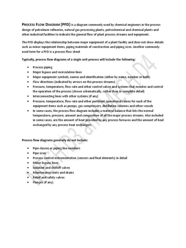 Download Process Flow Diagram B036 Refinery Plant Introduction